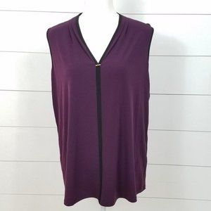 New Calvin Klein Top Plus Size 0X Sleeveless